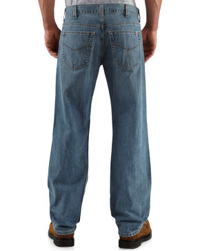 Carhartt Men's Loose-Fit Straight-Leg Jeans, Light Blue, hi-res