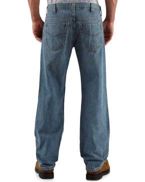 Carhartt Men's Loose-Fit Straight-Leg Jeans, Light Blue, hi-res