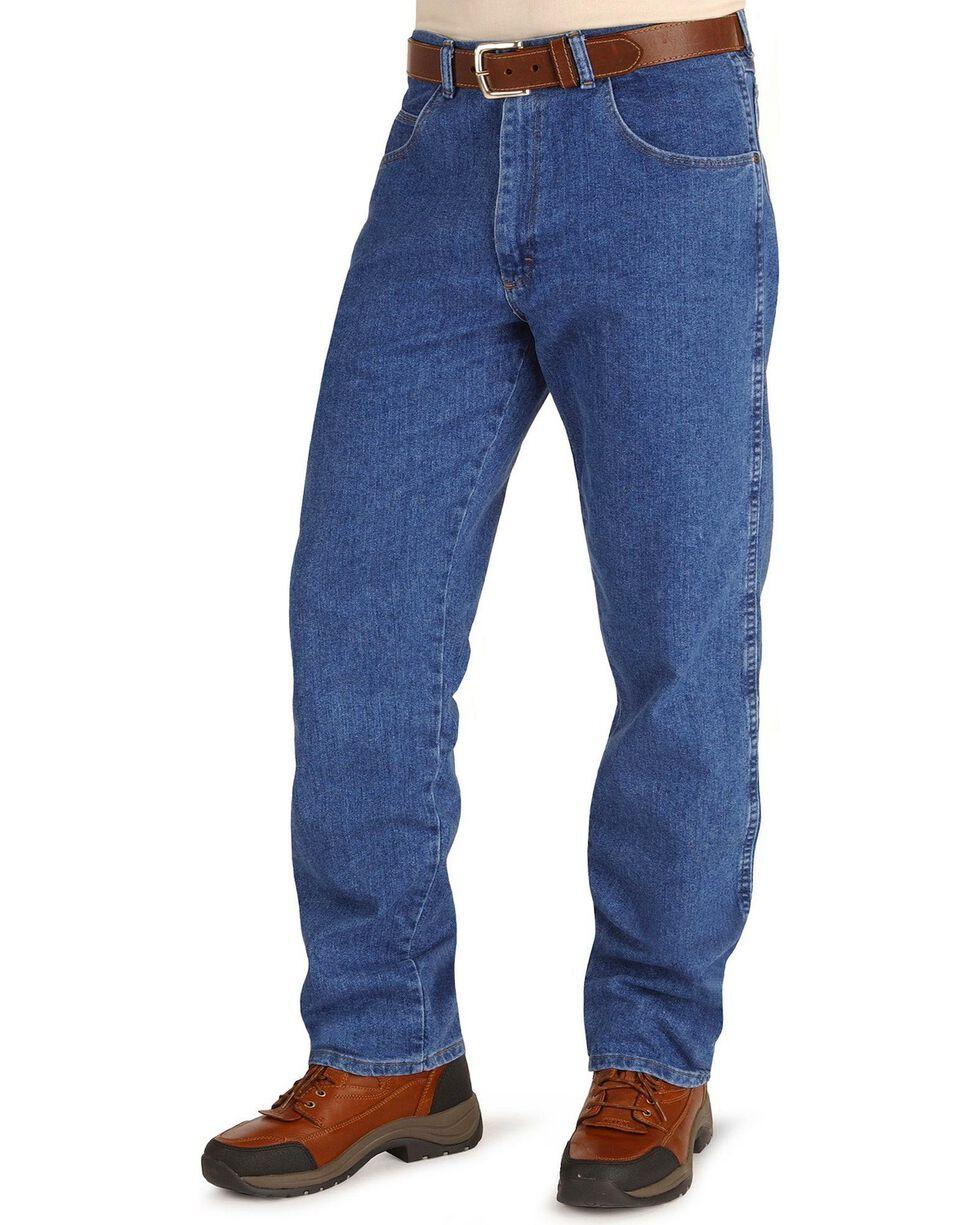 Wrangler Men's Rugged Wear Stretch Jeans, Stonewash, hi-res