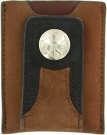 Nocona Trucker Money Clip Wallet, , hi-res