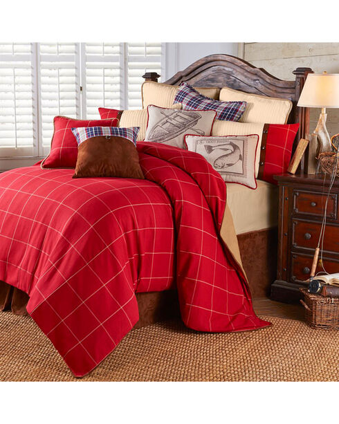 HiEnd Accents South Haven Queen 4-Piece Bedding Set, Multi, hi-res