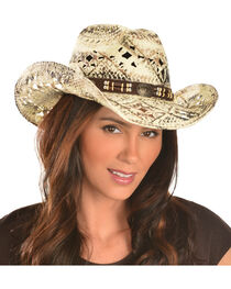 Bullhide Girl Next Door Straw Cowgirl Hat, , hi-res