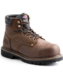 "Dickies Men's Brown Ratchet 6"" Work Boot - Steel Toe, , hi-res"