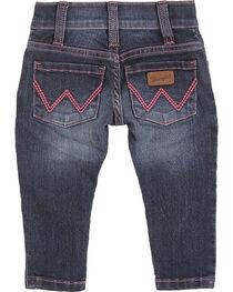 Wrangler Toddler Girls' Skinny Leg Jeans, , hi-res