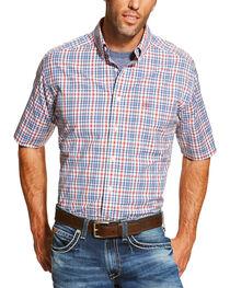 Ariat Men's Coral Maud Short Sleeve Shirt , , hi-res