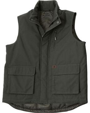 Wrangler Riggs Workwear Men's Foreman Vest, Loden, hi-res