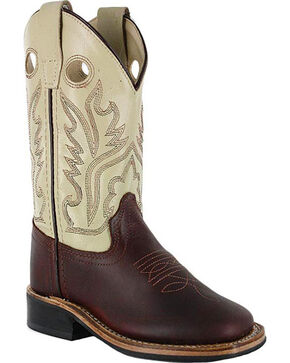 Jama Children's Western Boots, Brown, hi-res