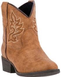 Laredo Girls' Chloe Western Boots, , hi-res