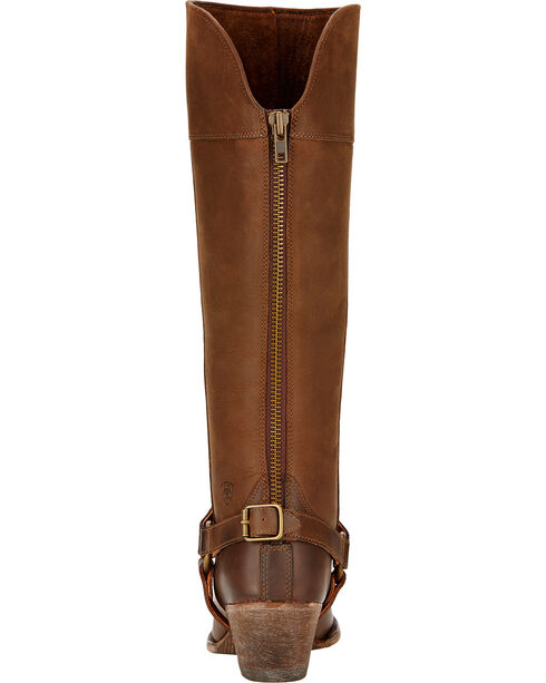 Ariat Sadler Distressed Women's Riding Boots - Round Toe, Distressed, hi-res
