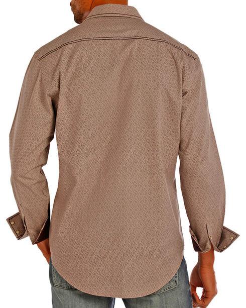 Rock & Roll Cowboy Men's Western Long Sleeve Shirt, Grey, hi-res