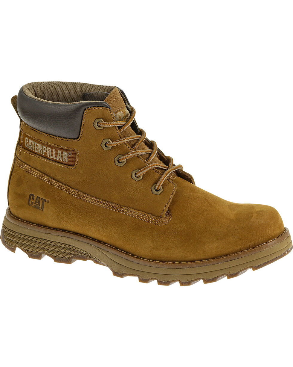 CAT Men's Founder Casual Work Boots, Brown, hi-res