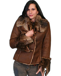Scully Faux Fur and Suede Jacket, , hi-res