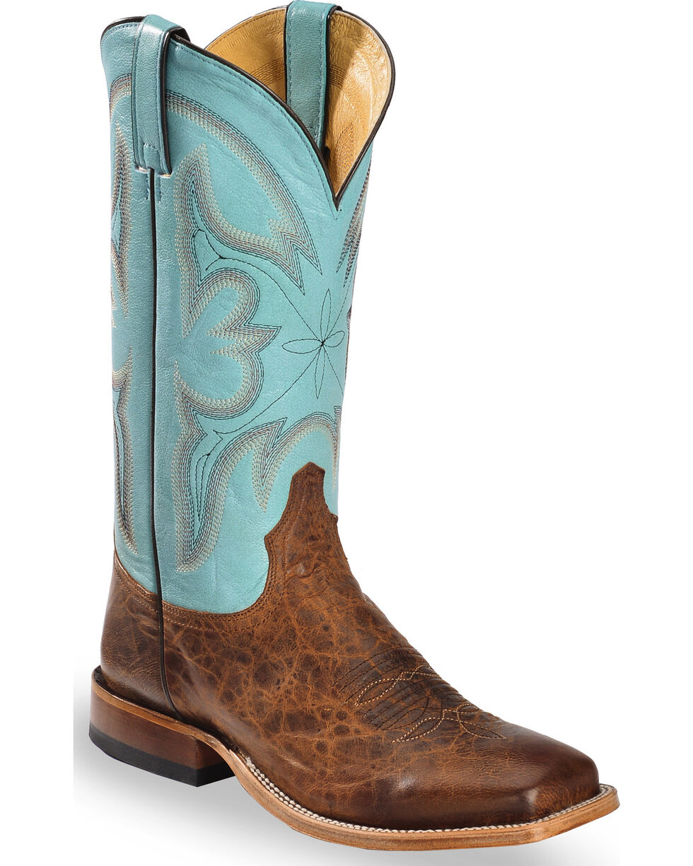 Tony Lama Men's Cabra Western Boots, Honey, hi-res