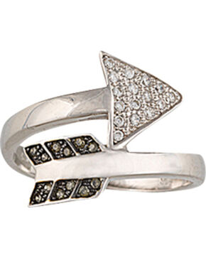 Montana Silversmiths Sparks Will Fly Twisted Arrow Ring, Silver, hi-res