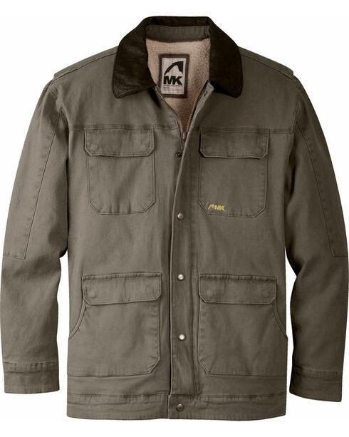 Mountain Khakis Men's Ranch Shearling Jacket, Dark Brown, hi-res