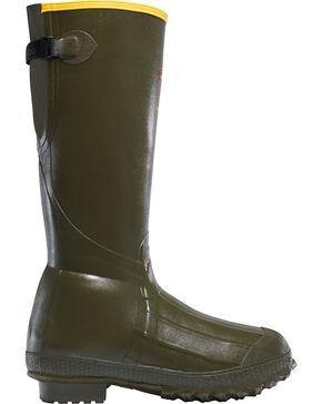"LaCrosse Men's Bruly Trac-lite 18"" Hunting Boots, Dark Green, hi-res"