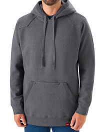 Red Kap Men's Grey Workwear Pull-Over Heavyweight Hoodie, , hi-res