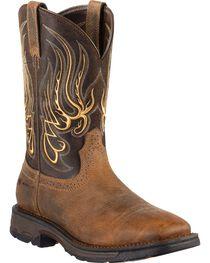 Ariat Men's Workhog Mesteno Western Work Boots, , hi-res
