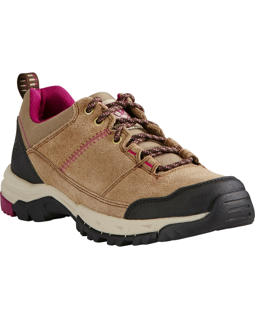 Ariat Women's Skyline Hiking Shoes, Tan, hi-res