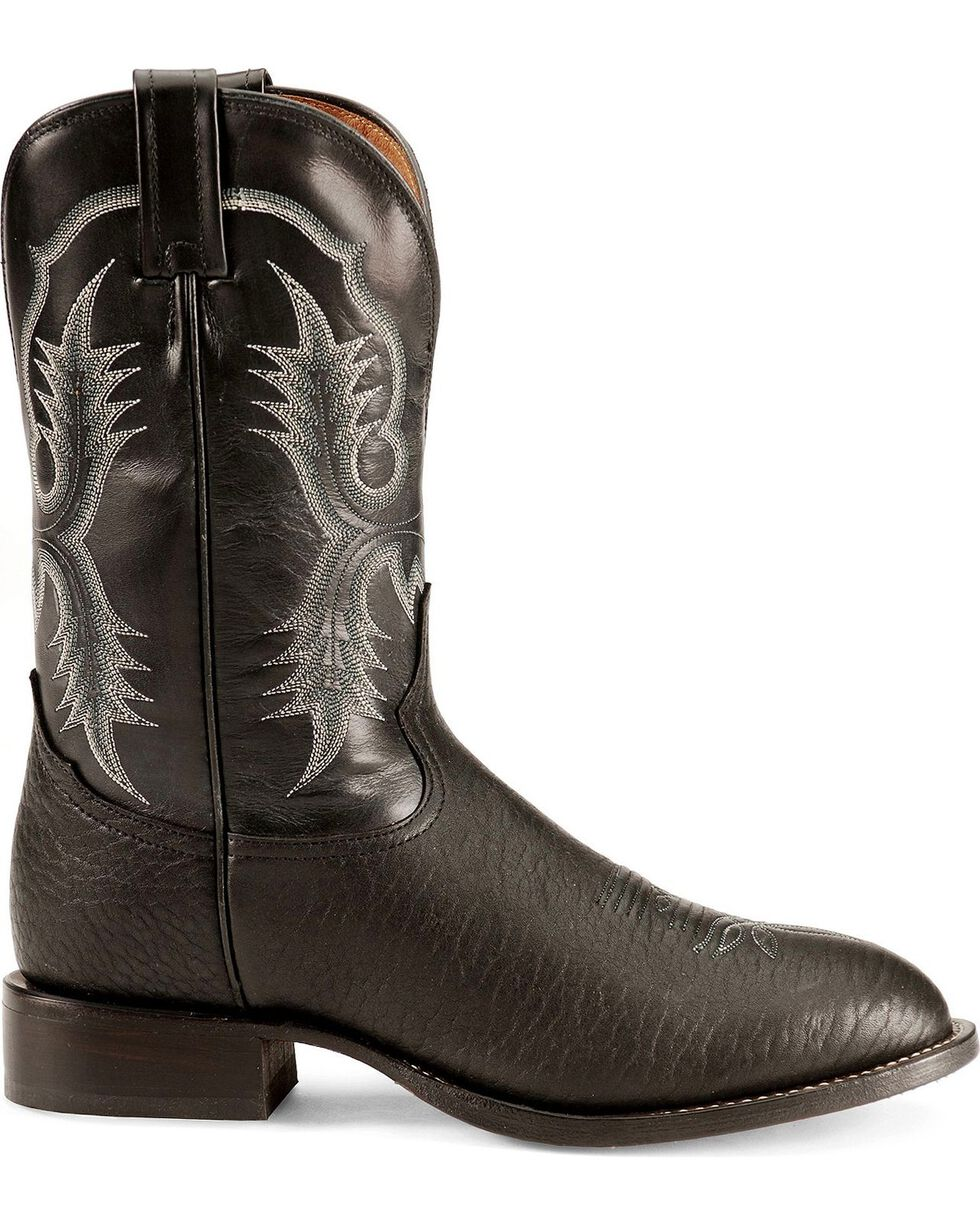 "Tony Lama Men's 11"" Stockman Boots, Black, hi-res"
