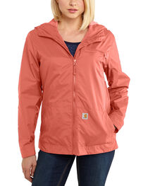 Carhartt Women's Waterproof Rockford Windbreaker Jacket, , hi-res