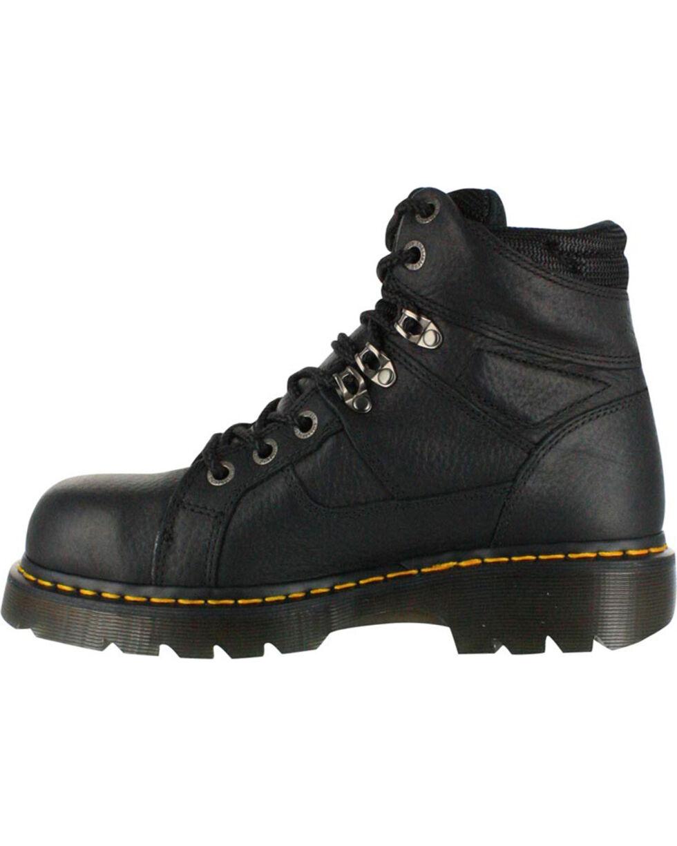 Dr. Marten's Men's Ironbridge Safety Toe Boots, Black, hi-res