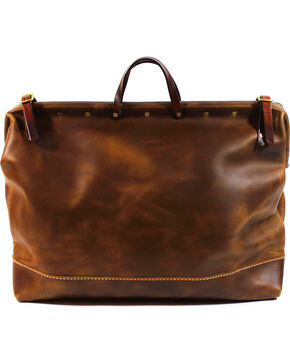 SouthLife Supply Aged Bourbon Weekender Bag, Brown, hi-res