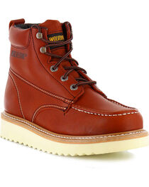 Wolverine Men's Moc-Toe Work Boots, , hi-res