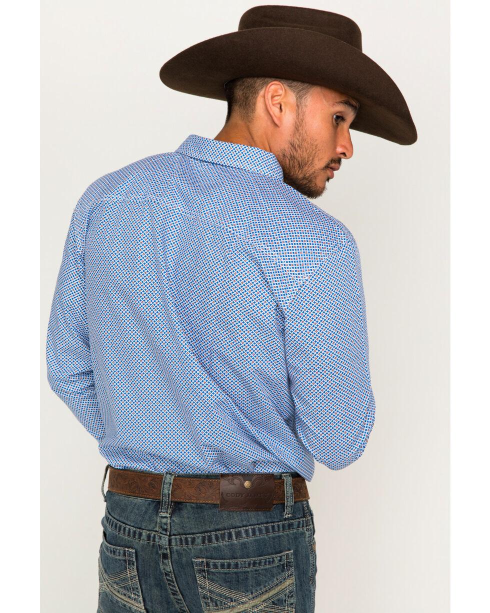 Cody James Men's Cool Hand Luke Long Sleeve Shirt, Royal Blue, hi-res