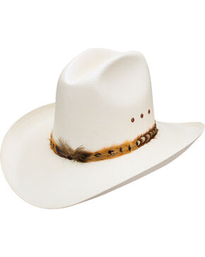 Resistol Men's Natural Eagles Nest Cowboy Hat , Natural, hi-res