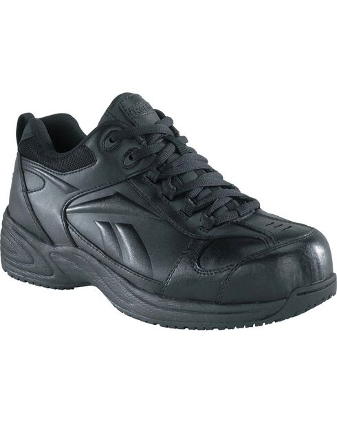 Reebok Women's Jorie Athletic Jogger Work Shoes - Composition Toe, Black, hi-res