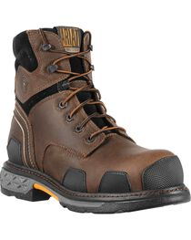 "Ariat Men's Overdrive 6"" Composition Toe Western Work Boots, , hi-res"