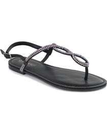 Shyanne® Women's Bling Loop Sandals, , hi-res