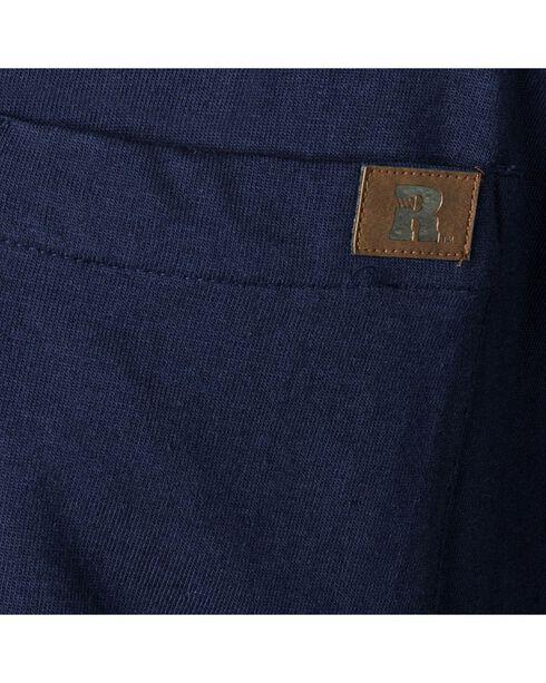 Riggs Workwear Men's Long Sleeve Henley T-Shirt, Navy, hi-res