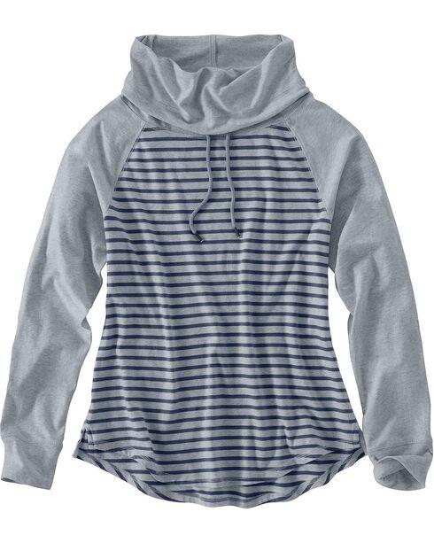 Carhartt Halley Cowlneck Shirt, Grey, hi-res