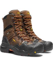 """Keen Men's Coburg 8"""" Waterproof Boots - Steel Toe, , hi-res"""
