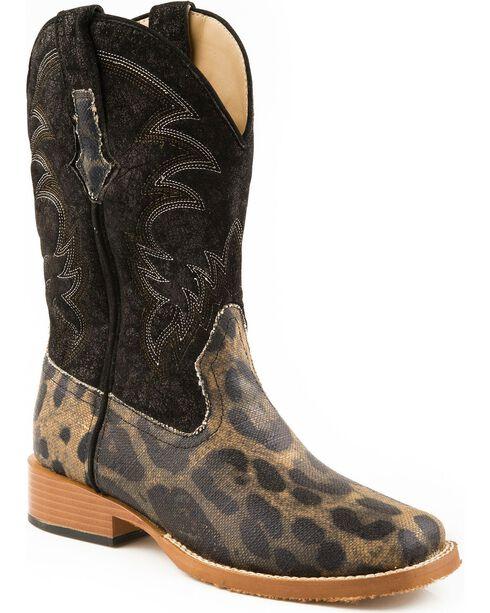 Roper Women's Leopard Print Western Boots, Leopard, hi-res