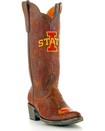 Gameday Iowa State University Cowgirl Boots - Pointed Toe, , hi-res