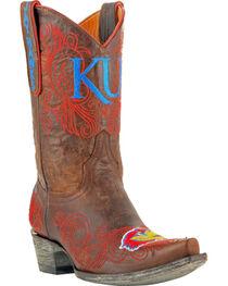 Gameday Boots Women's University of Kansas Western Boots - Snip Toe, , hi-res