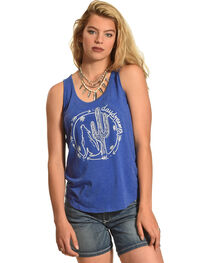 Cowgirl Justice Women's Day Dreamer Tank, , hi-res