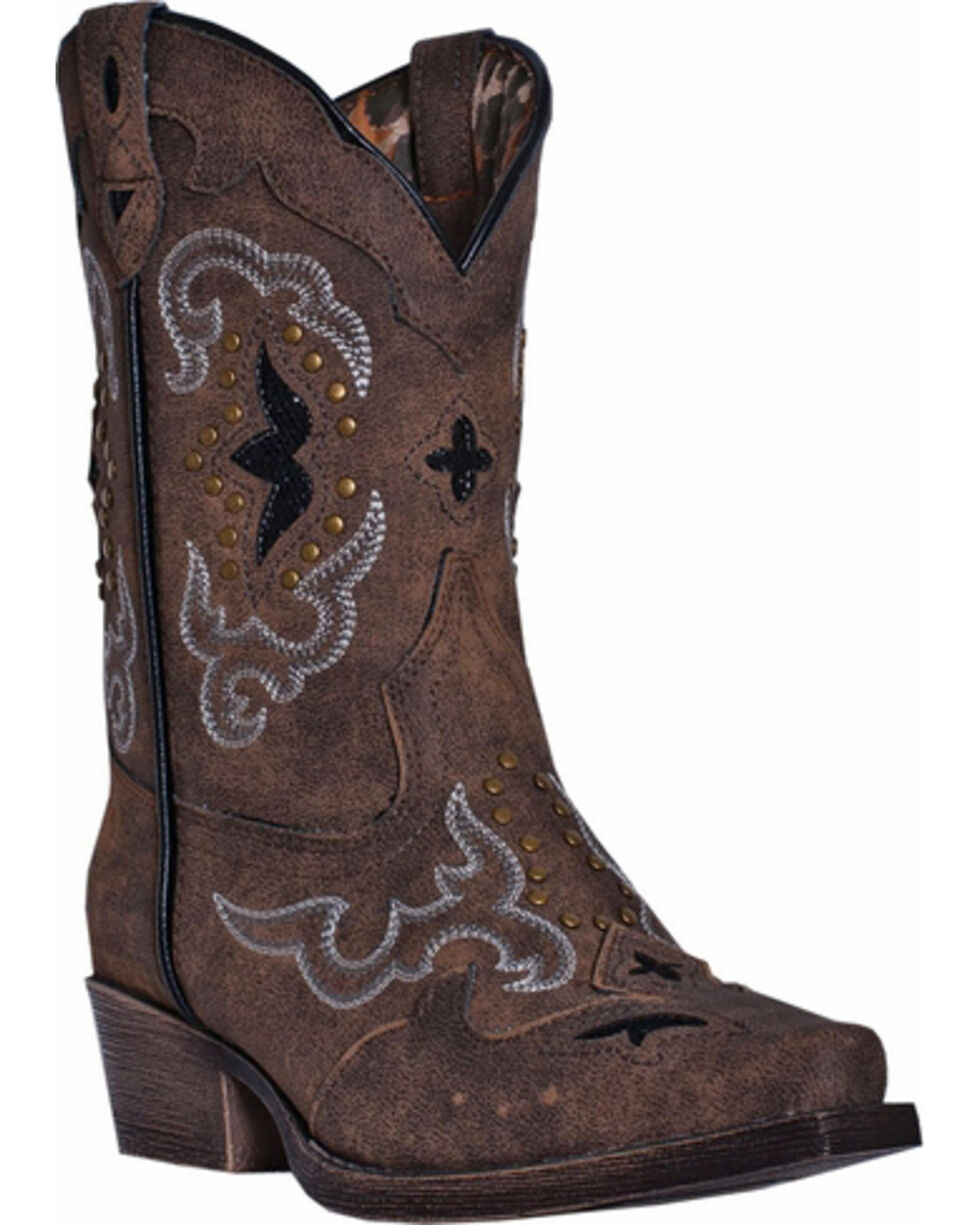 Laredo Children's Rulay Western Boots, Brown, hi-res