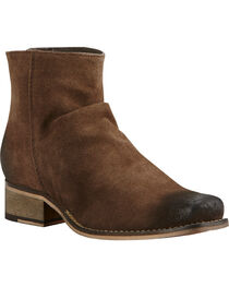 Ariat Women's Brown Unbridled Sloan Suede Boots - Square Toe , , hi-res