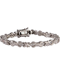 Montana Silversmiths Women's Barbed Wire Bracelet, , hi-res