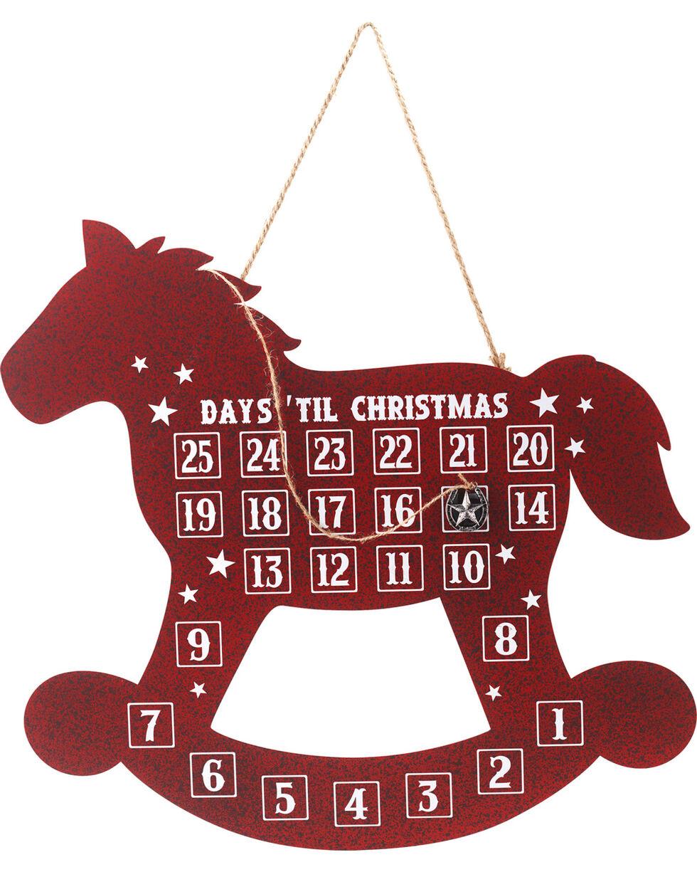 BB Ranch Metal Horse Countdown   , No Color, hi-res
