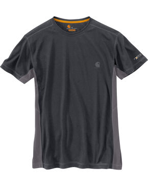 Carhartt Men's Force Extremes™ Short Sleeve Shirt, Charcoal, hi-res