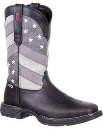 Rebel by Durango Men's Faded Flag Western Boots, , hi-res