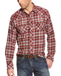 Ariat Men's Norris Long Sleeve Plaid Shirt, , hi-res
