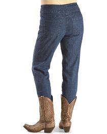 Ruby Road Women's Stretch Faux Pocket Jeans , , hi-res