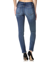 Miss Me Women's Indigo Bare It All Mid-Rise Jeans - Skinny , , hi-res