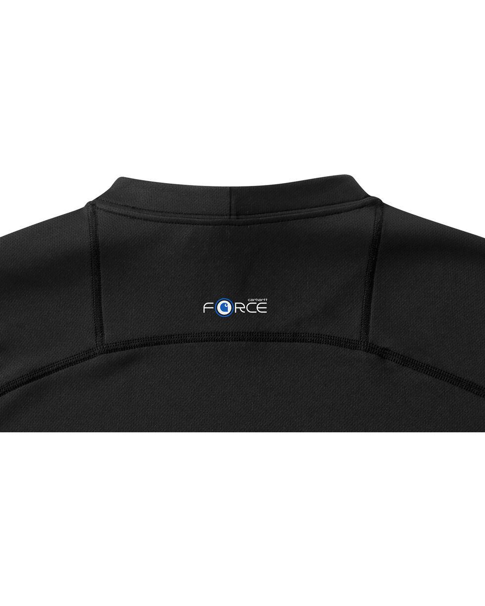 Carhartt Men's Base Force Extremes Lightweight Short-Sleeve T-Shirt , Black, hi-res